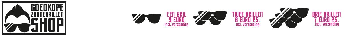 Goedkope Zonnebrillen Shop Logo