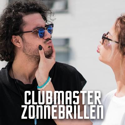 Goedkope Clubmaster Zonnebrillen