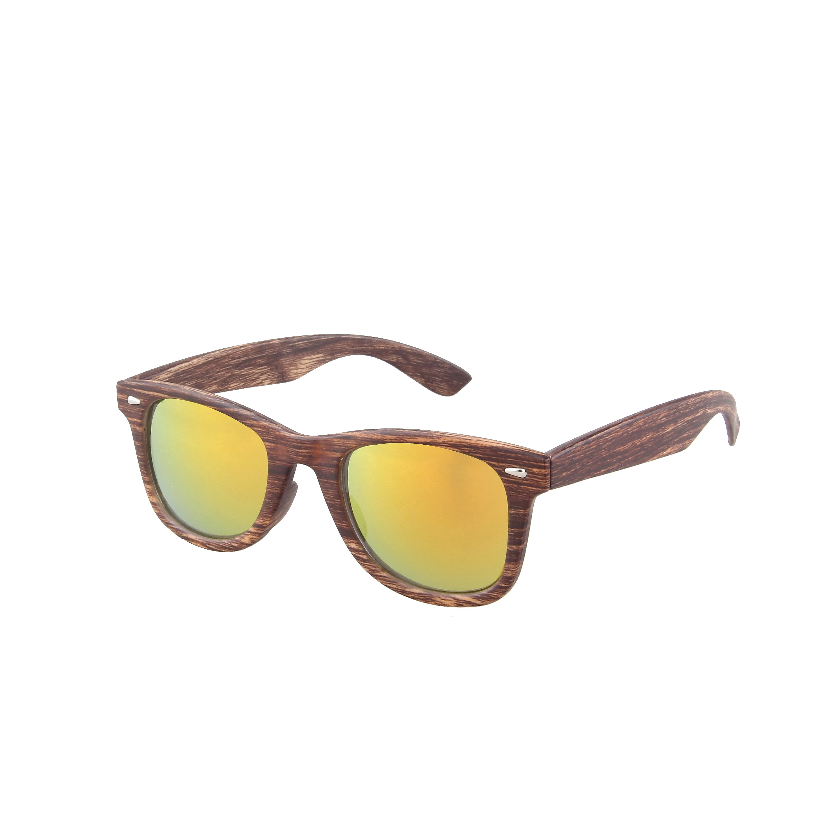 Wayfarer Classic Houtlook 400UV Red Revo