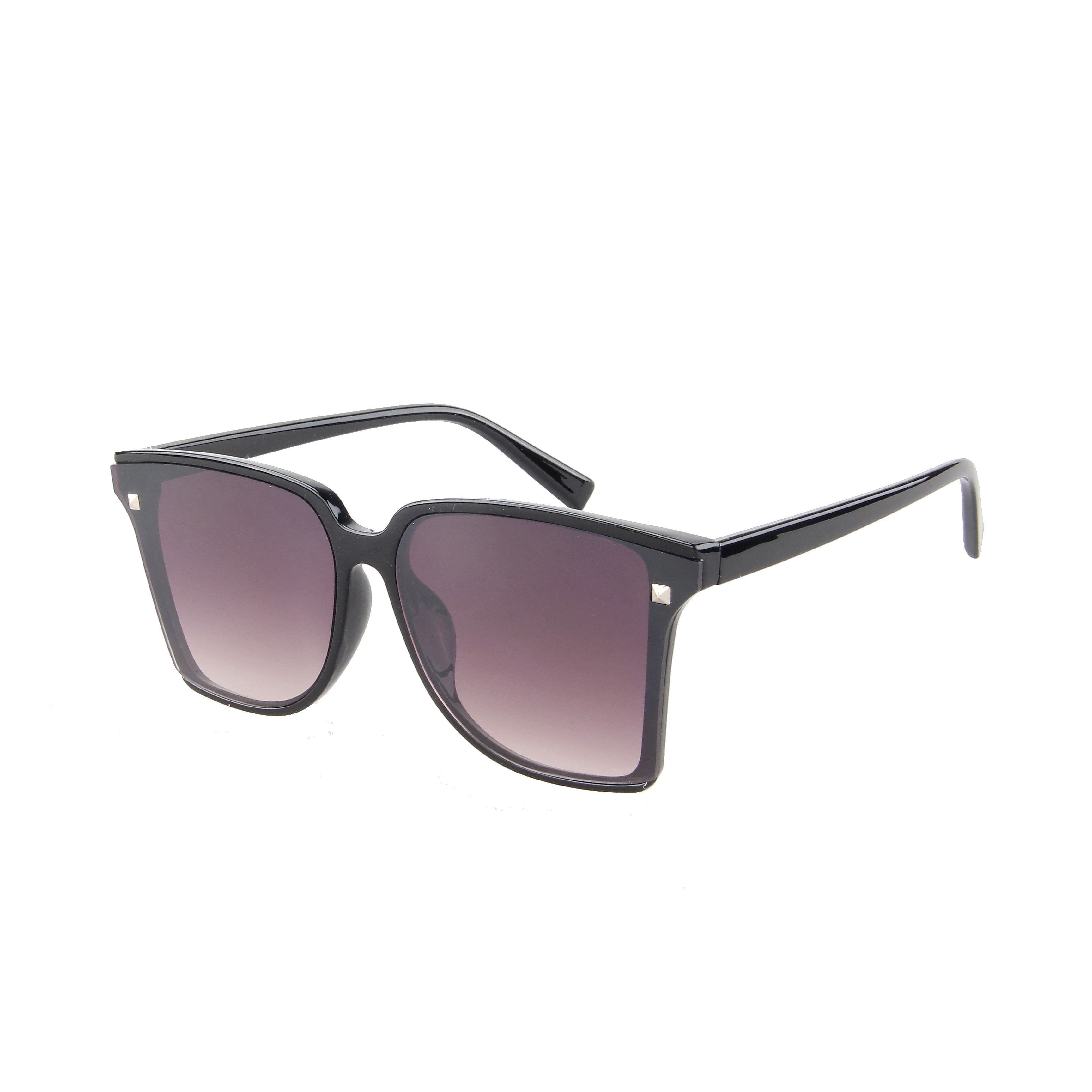 Trendy Big Transparant Black 400UV Smoke Gradient