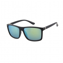 Wayfarer Black Matt 400UV Yellow Revo