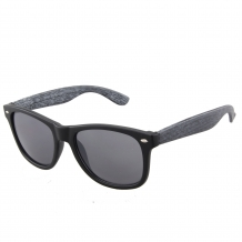 Wayfarer Black Matt Grey Deco UV 100%