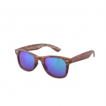 Wayfarer Classic Houtlook 400UV Purple Revo