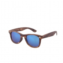 Wayfarer Classic Houtlook 400UV Blue Revo