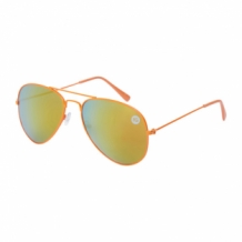 Pilot sunglasses SMALL | red-yellow mirror lenses