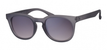 Wayfarer Retro Rubber Touch Grey 400UV Smoke Solid