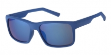 Wayfarer Rubber Touch Blue 400UV Blue Revo