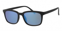 Wayfarer Matt Black 400UV Blue Revo