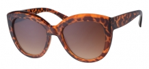 Fashion Cateye Orange Demi 400UV Brown Gradient