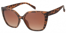 Fashion Cateye Brown Demi 400UV Brown Gradient