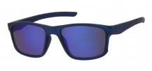 Wayfarer Sports Rubber Touch Dark Blue 400UV Blue Revo